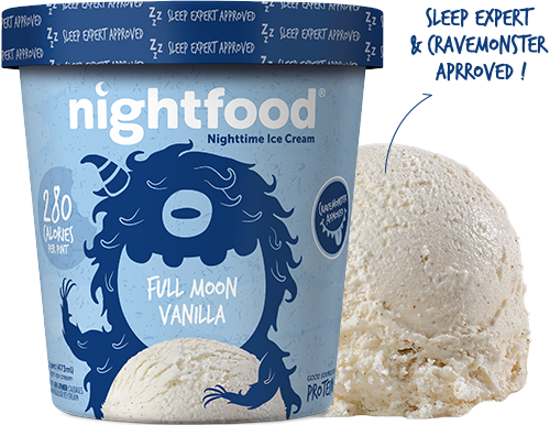 Nightfood - Product Flavor - Full Moon Vanilla