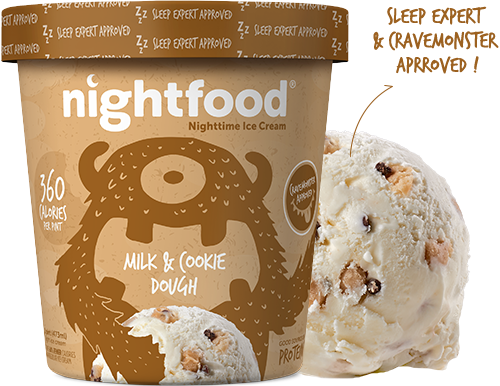 Nightfood - Product Flavor - Milk and Cookie Dough
