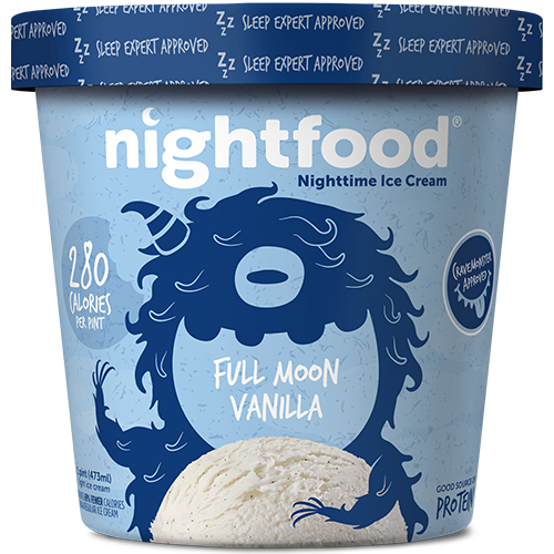 Nightfood - Product - Full Moon Vanilla