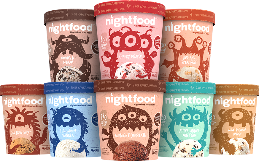 nightfood product pints