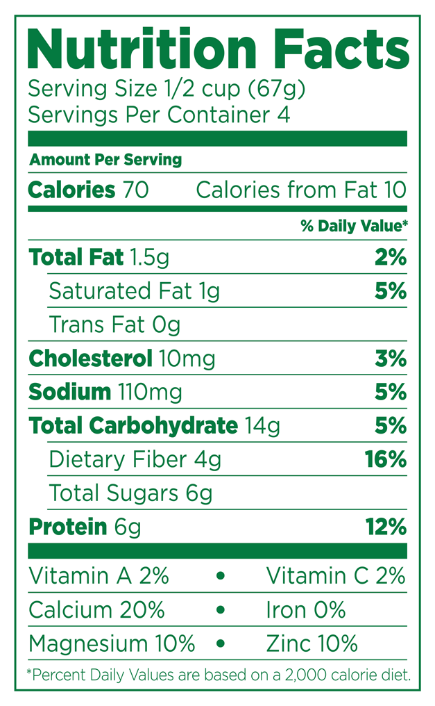 Nighfood - Product - Nutrition Facts - Pickles for Two